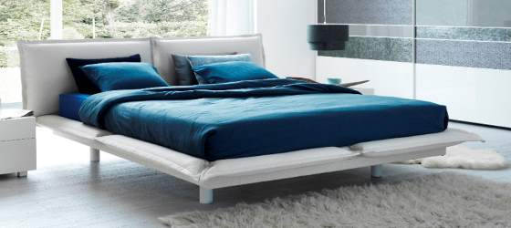 low double bed
